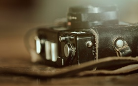 Картинка макро, фотоаппарат, раритет, чехол