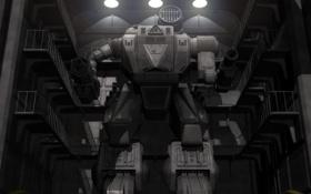 Обои машина, фантастика, обои, графика, механизм, робот, картинка