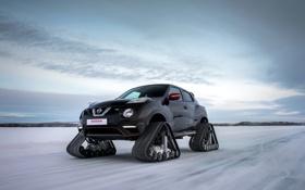 Обои Автомобиль, фото, RSnow, Зима, Nissan, Тюнинг, Nismo