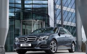 Картинка Mercedes-Benz, седан, вид спереди, мерседес, CDI, E 250