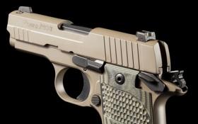 Обои пистолет, оружие, SIG-Sauer, P938