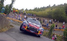 Обои Люди, Поворот, Ситроен, Citroen, Red Bull, DS3, WRC