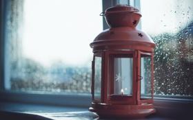 Картинка макро, лампа, окно