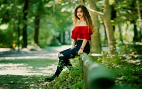 Картинка джинсы, кудри, Ana Lopes