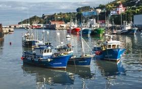 Картинка вода, город, фото, корабли, яхты, лодки