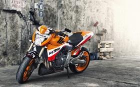 Обои гараж, мотоцикл, Hornet RR