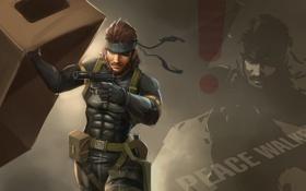 Картинка Metal Gear Solid: Peace Walker, Metal Gear, mgs, Big Boss, Naked Snake, big boss, Snake