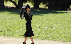 Обои зонт, певица, знаменитость, katy perry, перри, кэти