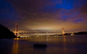Обои Golden Gate Bridge, United States, Sausalito, San Francisco, California