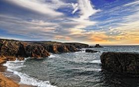 Обои море, вода, камни, фото, океан, скалы, пейзажи