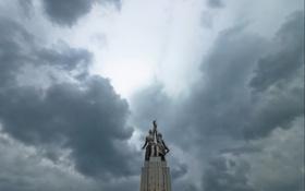 Обои Russia, Moscow, Rabochiy i Kolkhoznitsa