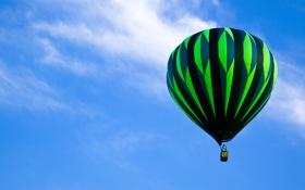 Картинка шар, воздушный, balloon stripes