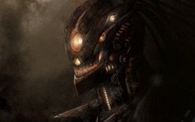 Обои фантастика, арт, инопланетянин, sci-fi
