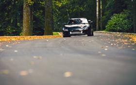 Картинка дорога, осень, Mazda, RX7