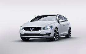 Картинка Volvo, вольво, V60, 2015, Twin Engine