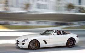 Картинка sls, roadster, drive