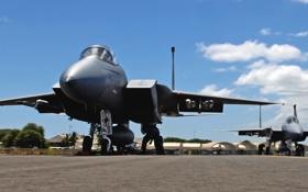Обои Самолет, Истребитель, Оружие, США, Авиация, Одноместный, Два
