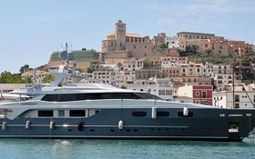 Обои яхта, Испания, Spain, Ibiza, Ивиса