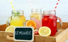 Картинка напитки, fresh, лимоны, лимонад, lemons, lemonade