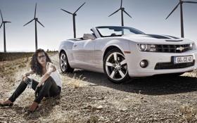 Картинка Chevrolet, Camaro, кабриолет, 2012, шевроле, камаро, Convertible