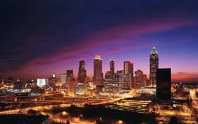 Обои Georgia, город, city, USA, Atlanta