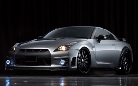 Картинка Nissan, GT-R, R35