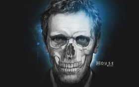 Картинка house, Hugh Laurie, actor, background, man, house md, doctor