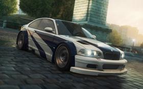 Картинка машина, игра, гонки, 2012, Need for speed, BMW M3 GTR, Most wanted