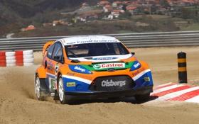 Картинка Ford, Fiesta, Rallycross