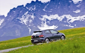Картинка авто, volkswagen, гольф, golf