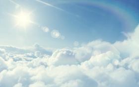 Обои облака, небеса, фото, вид, обои, пейзажи, небо
