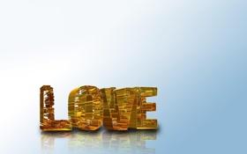 Картинка любовь, светлый фон, love