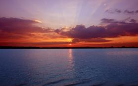 Обои пейзажи, обои, вода, небо