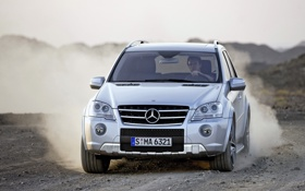 Обои Mercedes-Benz, amg, ml63, M-Klasse