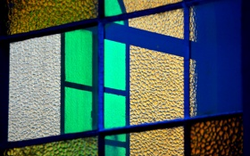 Обои стекло, рама, текстура, окно