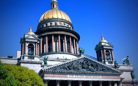Обои Исаакиевский собор, Санкт-Петербург, Купол, Saint-Petersburg