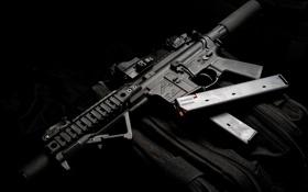 Обои оружие, карабин, DB15, пистолетная версия