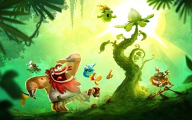 Картинка Ubisoft, Ubisoft Entertainment, Rayman, Рэйман, Rayman Adventures