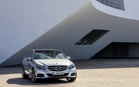 Обои Mercedes-Benz, Авто, Машина, Мерседес, Серый, Капот, Седан