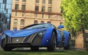 Обои car, машина, арт, Need For Speed Most Wanted, супер