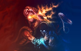 Картинка Mortal Kombat, Смертельная битва, фаталити, Fatality
