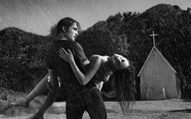Картинка девушка, фильм, парень, Twilight