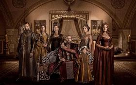 Обои комната, свечи, семья, сериал, турция, Великолепный век, Muhtesem Yüzyil