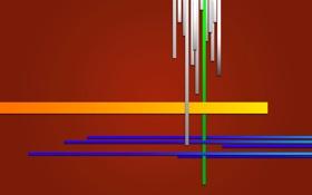 Картинка линии, полоса, цвет, прямая, отрезок