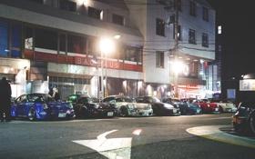 Обои улица, япония, porsche, порше, japan