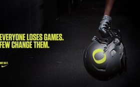 Обои надпись, мотивация, Nike pro football, Шлем, Oregon