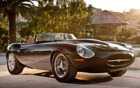 Картинка спорткар, jaguar, eagle, красивая машина, e-type, speedster, спидстер