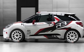Обои citroen, ds3, rally