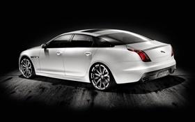 Обои белый, Jaguar, тачки, ягуар, cars, auto wallpapers, авто обои