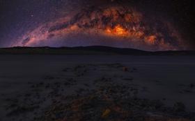 Картинка Space, Galaxy, Nebula, Beauty, View, Way, Milky